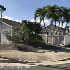 Rental info for 91-112 Piliokahe Way in the Ewa Gentry area