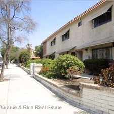 Rental info for 7904 Laurel Canyon Blvd #9 in the Sun Valley area