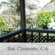 Rental info for FULL SPECTRUM OF OCEAN/ COASTAL VIEWS. Washer/D... in the San Clemente area