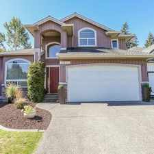 Rental info for 11637 Creekside Dr in the Maple Ridge area