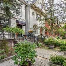 Rental info for 212 Cottingham St in the Yonge-St.Clair area