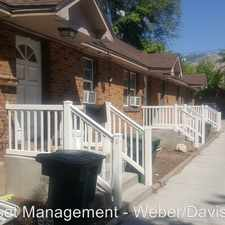 Rental info for 2740 Madison Avenue in the Ogden area