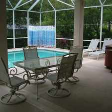 Rental info for Beachside Unfurnished Pool Home With Hot Tub in the Port Orange area