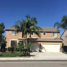 Rental info for Beautiful Home Built In 2005. Washer/Dryer Hook... in the Mira Loma area