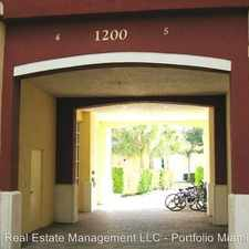 Rental info for 1200 Town Center Dr. 217 in the Jupiter area