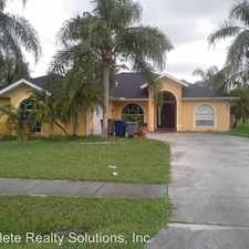 Rental info for 2611 7th St. W in the Lehigh Acres area