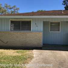 Rental info for 610 N Vionett Ln in the Texas City area