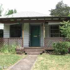 Rental info for 2133 Kincaid St in the South University area