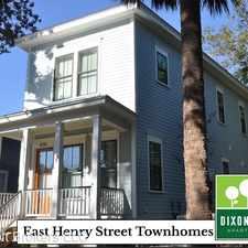 Rental info for E Henry St in the Savannah area