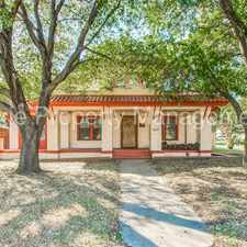 Rental info for Spacious Spanish Eclectic in Hip Oakhurst! in the Fort Worth area