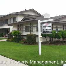 Rental info for 12551 ORRWAY DR #3 in the Stanton area