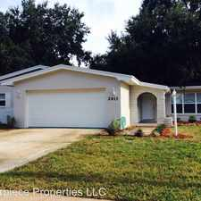 Rental info for 2613 Applewood Drive