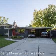 Rental info for 1638 East WoodCrest Dr in the Holladay area
