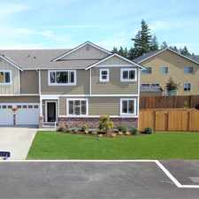 Rental info for SOLD! New Construction in Spanaway/Frederickson