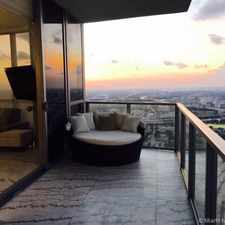 Rental info for 1100 Biscayne Boulevard #5605 in the Downtown area