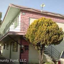 Rental info for 1663 80th Ave in the Arroyo Viejo area