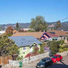 Rental info for 1804 62nd Street in the Oakland area