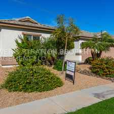 Rental info for 3232 E VAUGHN AVE - 4BR 3BA Higley/Elliot - BEAUTIFUL SINGLE LEVEL HOME WITH PRIVATE POOL! STAINLESS STEEL APPLIANCES, FIREPLACE, PATIO, BEAUTIFUL MASTER SUITE AND SO MUCH MORE! in the Gilbert area
