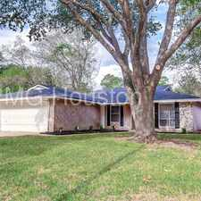 Rental info for Spacious 1 story home. 3 Bedrooms, 2 Baths, and 2 Car Garage in the Houston area