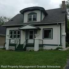 Rental info for 831 S. 84th Street in the Milwaukee area