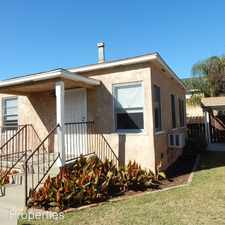 Rental info for 4444 1/2 50th Street in the San Diego area