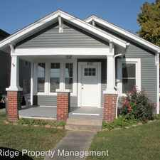 Rental info for 410 Roller Street in the Kingsport area