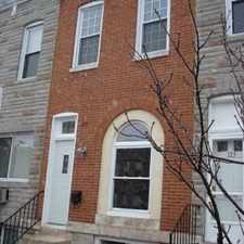 Rental info for 123 S. Highland Ave. in the Baltimore Highlands area