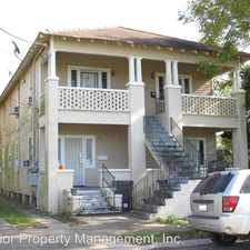 Rental info for 837 Reynes St. in the Bywater area
