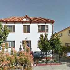 Rental info for 1366 N. Serrano Ave. in the Los Angeles area