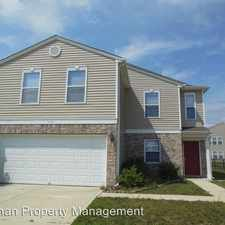 Rental info for 3358 BLACK FOREST LANE in the Indianapolis area