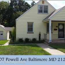 Rental info for 4607 Powell Ave in the Cedmont area
