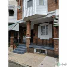 Rental info for TWO STORY ROW HOUSE. SMALL, PEACEFUL STREET. NEAR SEPTA ON GIRARD AVE., HAVERFORD AVE., 60TH ST., AND 57TH ST. in the Philadelphia area