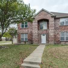 Rental info for 3801 Marshfield Dr Richardson in the 75094 area