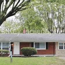 Rental info for 5027 N Sadlier Drive Indianapolis IN 46226 in the Indianapolis area