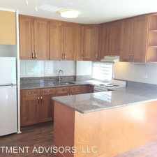 Rental info for 3340 Campbell Ave in the Honolulu area