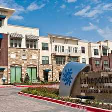 Rental info for Lakepointe at Las Colinas