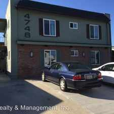 Rental info for 4748 BANCROFT in the Adams North area