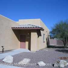 Rental info for 9047 E. SPANYARD CT. in the Tucson area