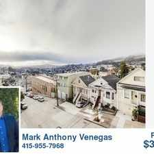 Rental info for 285 Grand View Ave. in the Upper Market area