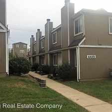 Rental info for 4415 Jarboe in the Kansas City area