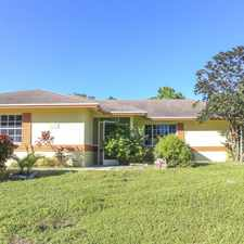 Rental info for Charming Single Family Home!