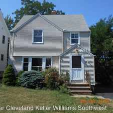 Rental info for 4868 E. 88th Street in the Cleveland area