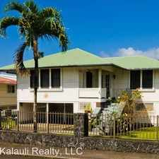 Rental info for 27 Lei Street in the Hilo area
