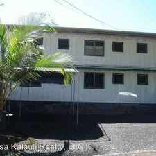 Rental info for 35 Amauulu Road, Apt. #1 in the Hilo area