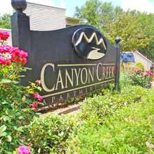 Rental info for Canyon Creek in the Hillcrest Forest area