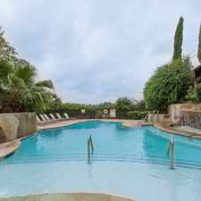 Rental info for Sendero Ridge in the San Antonio area