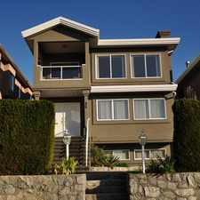 Rental info for 86 North Springer Avenue in the Burnaby area
