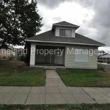 Rental info for Affordable 1 bedroom 1 bath on North Spokane in the Emerson Garfield area