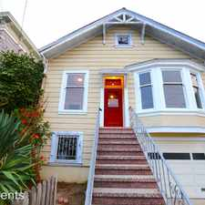 Rental info for 242 Chenery St in the Holly Park area