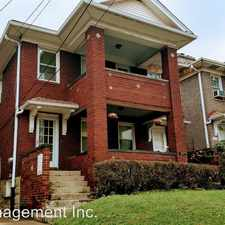Rental info for 805 HEBERTON AVENUE in the Pittsburgh area